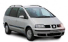 Funchal car Hire - Book here - SEAT ALHAMBRA TDI